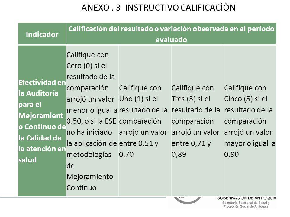 ANEXO . 3 INSTRUCTIVO CALIFICACÌÒN