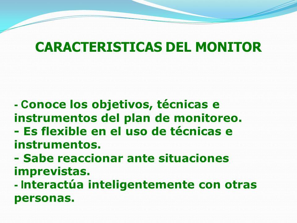 CARACTERISTICAS DEL MONITOR