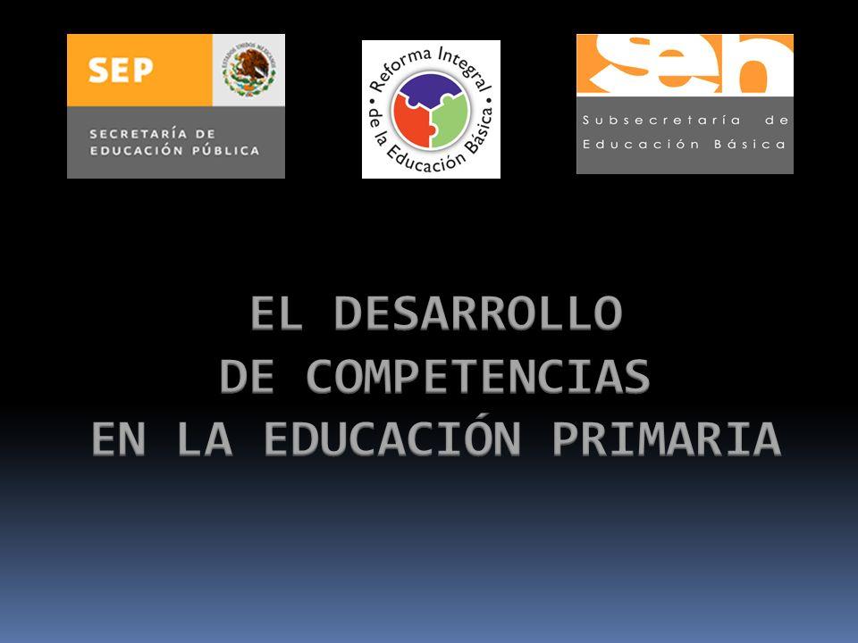 EL DESARROLLO DE COMPETENCIAS EN LA EDUCACIÓN PRIMARIA
