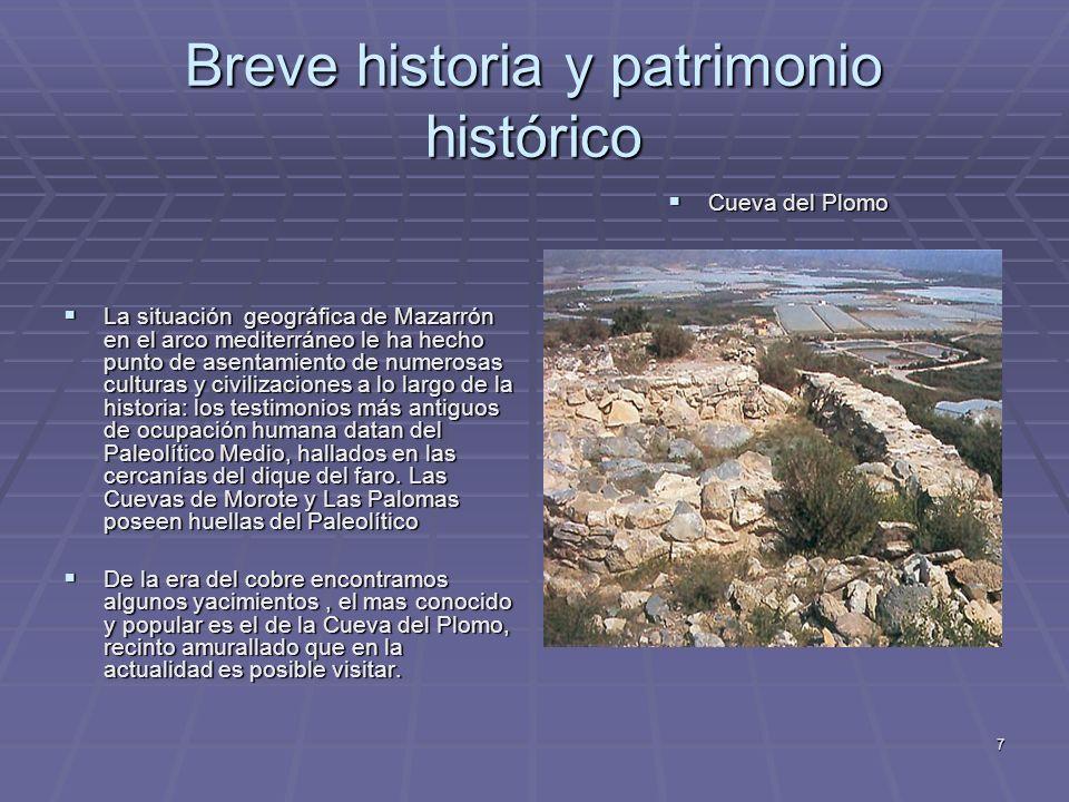 Breve historia y patrimonio histórico