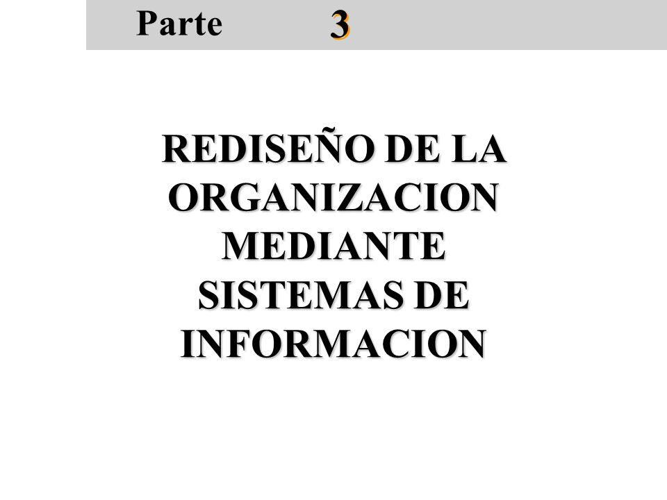 REDISEÑO DE LA ORGANIZACION MEDIANTE SISTEMAS DE INFORMACION