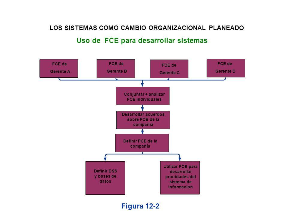Uso de FCE para desarrollar sistemas