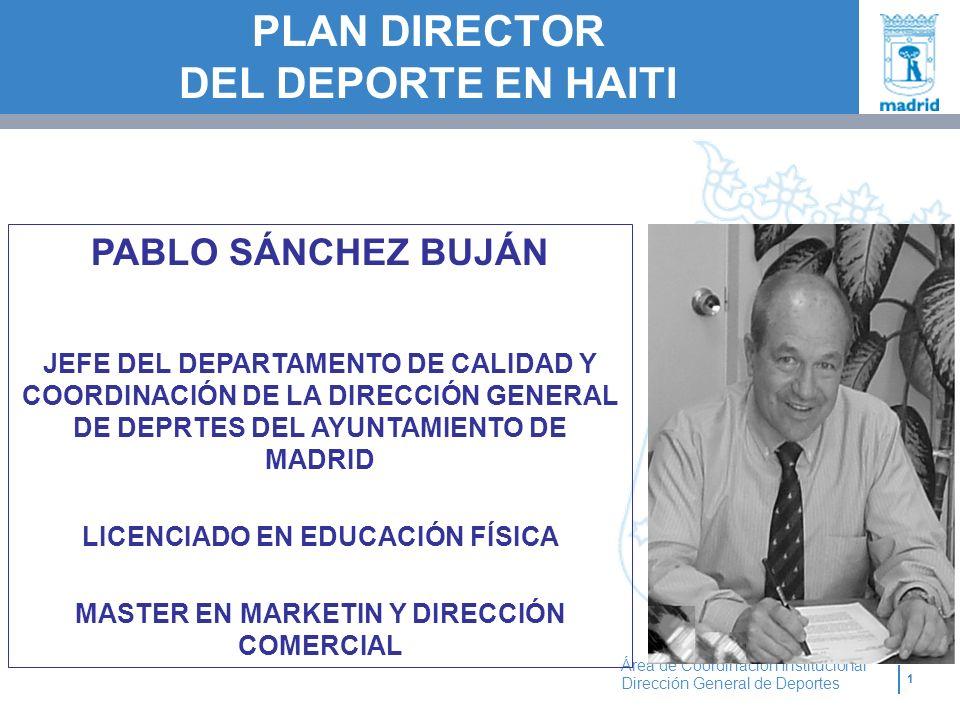 PLAN DIRECTOR DEL DEPORTE EN HAITI