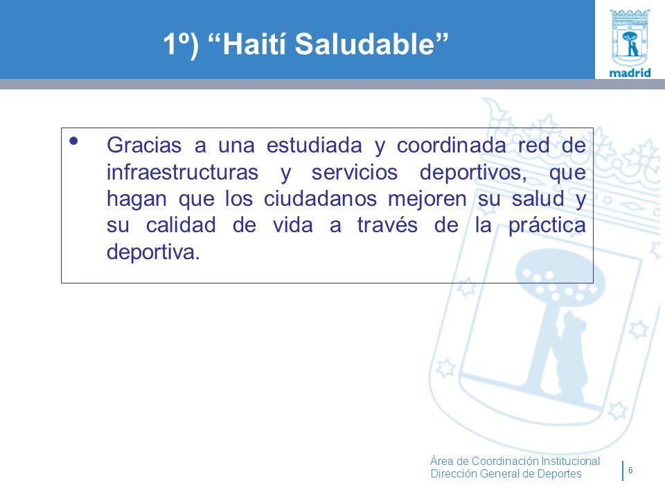 1º) Haití Saludable