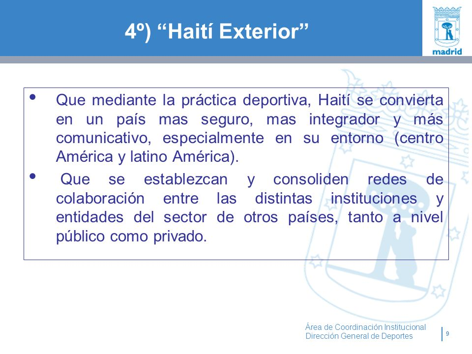 4º) Haití Exterior