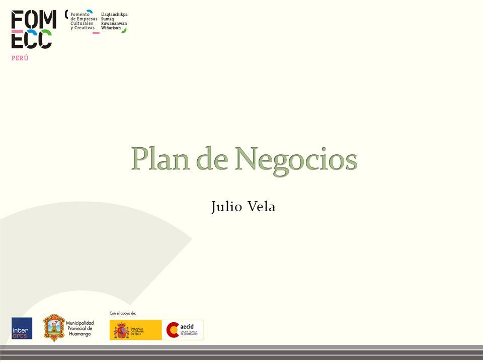 Plan de Negocios Julio Vela