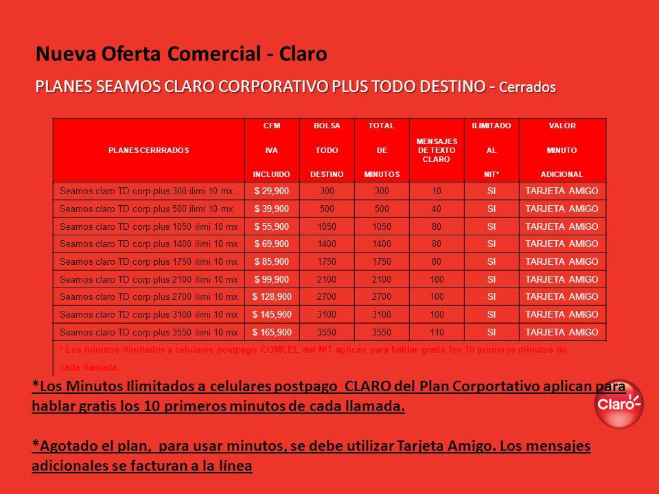 Nueva Oferta Comercial - Claro
