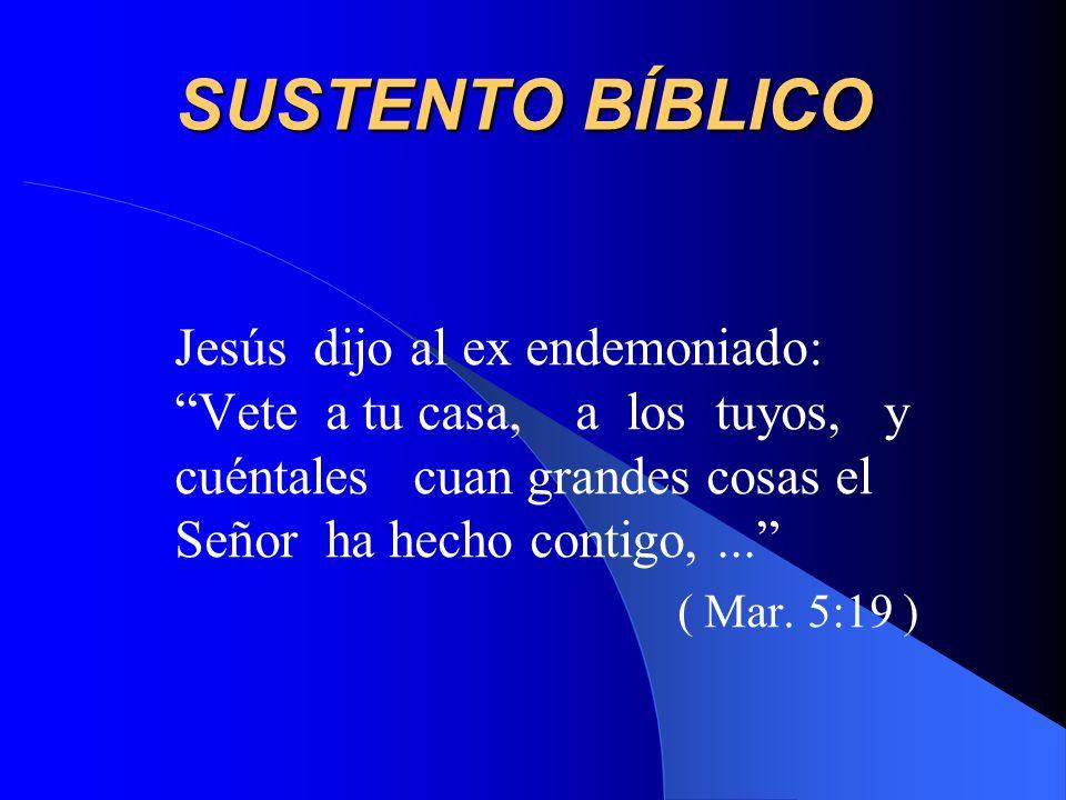 SUSTENTO BÍBLICO