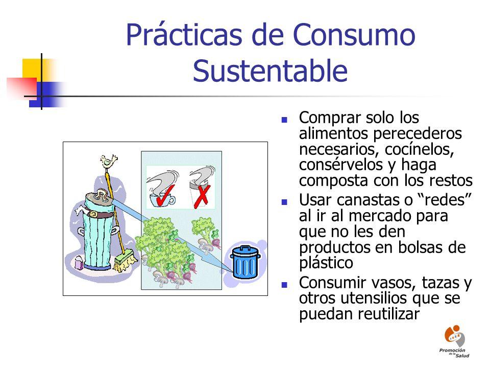 Prácticas de Consumo Sustentable