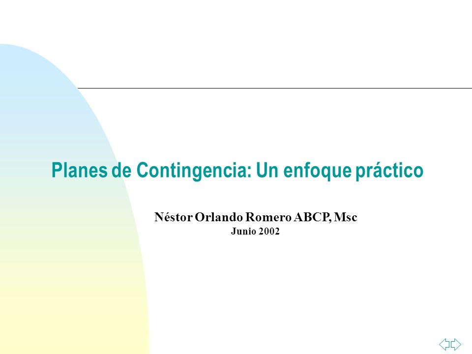Néstor Orlando Romero ABCP, Msc