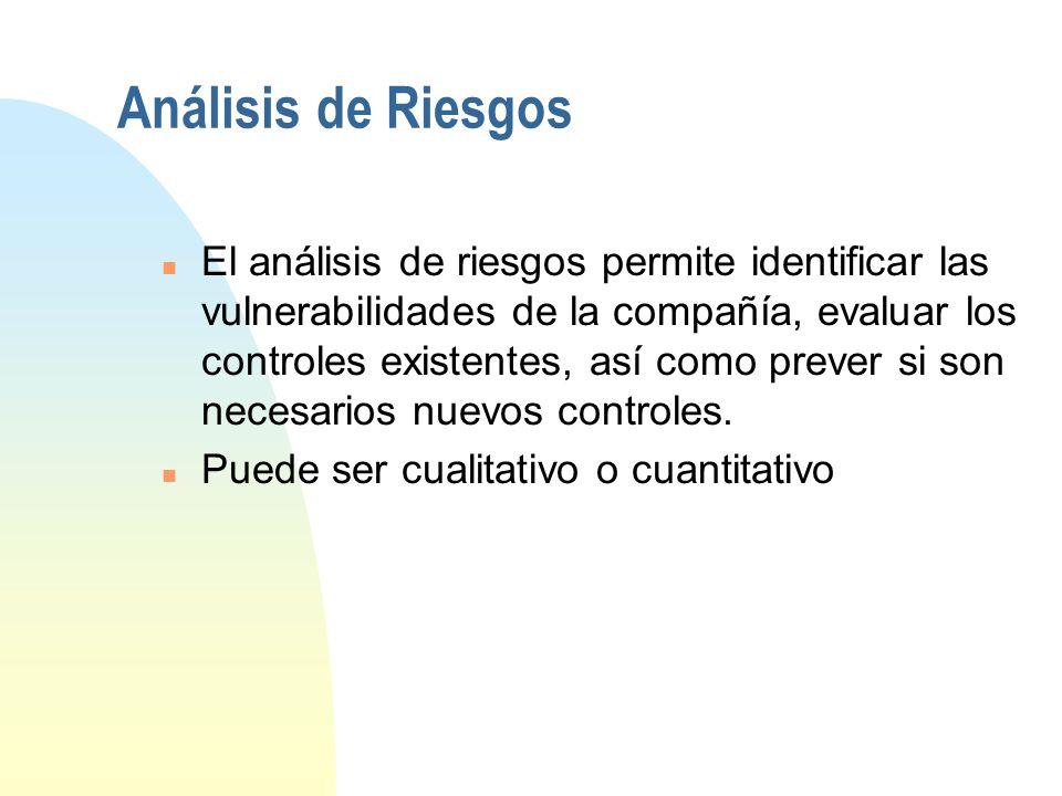 3/29/2017 Análisis de Riesgos.