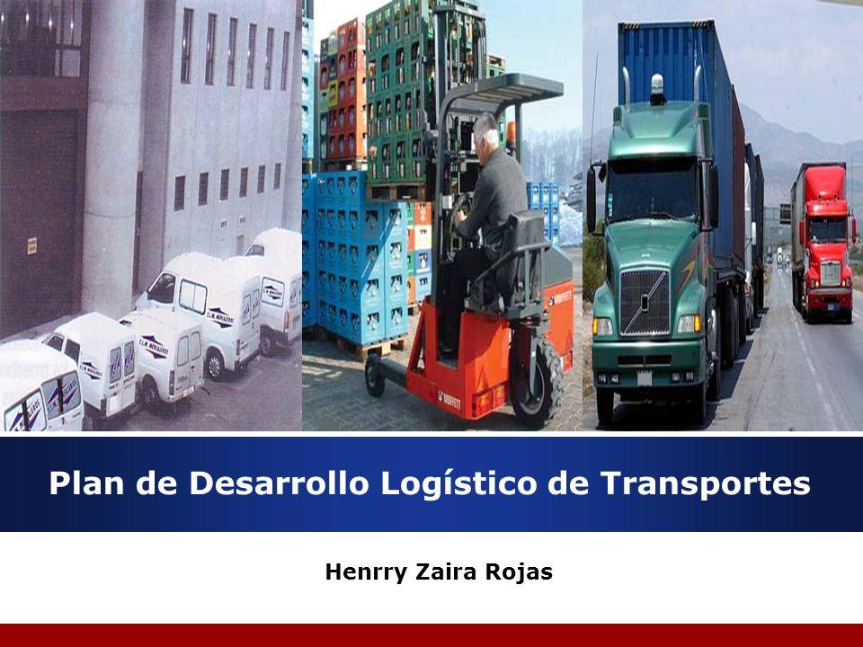 Plan de Desarrollo Logístico de Transportes