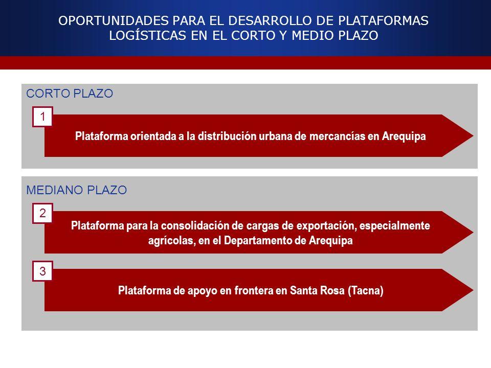 Plataforma de apoyo en frontera en Santa Rosa (Tacna)