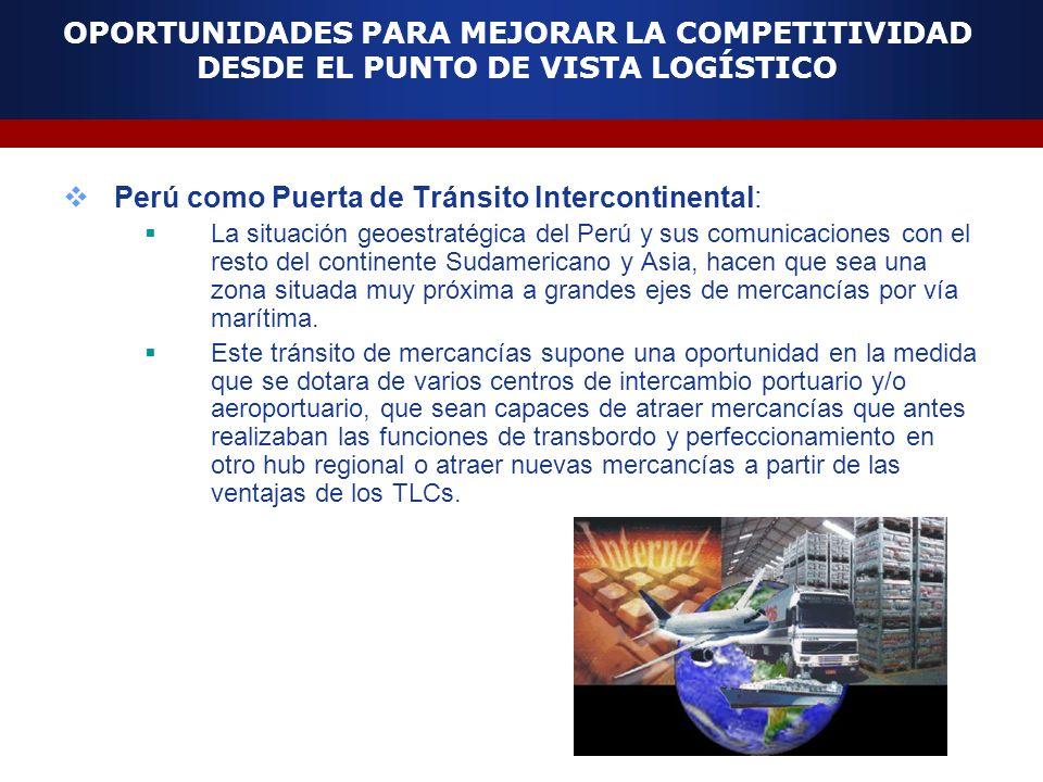 Perú como Puerta de Tránsito Intercontinental: