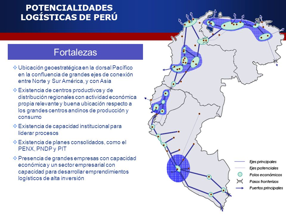 POTENCIALIDADES LOGÍSTICAS DE PERÚ