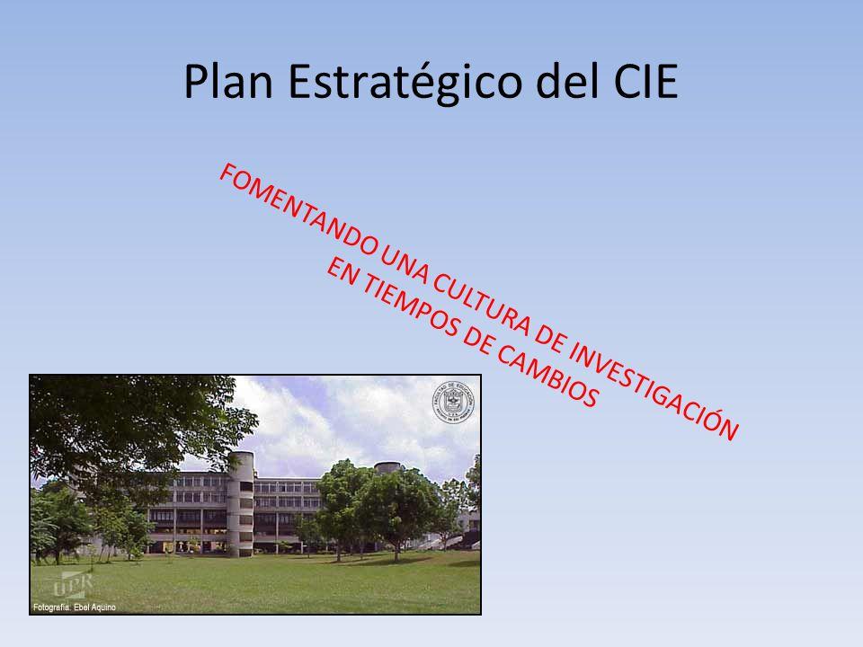 Plan Estratégico del CIE