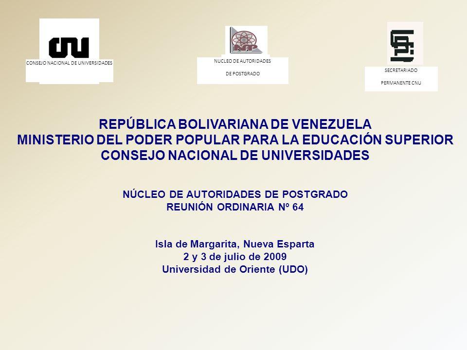 Isla de Margarita, Nueva Esparta Universidad de Oriente (UDO)