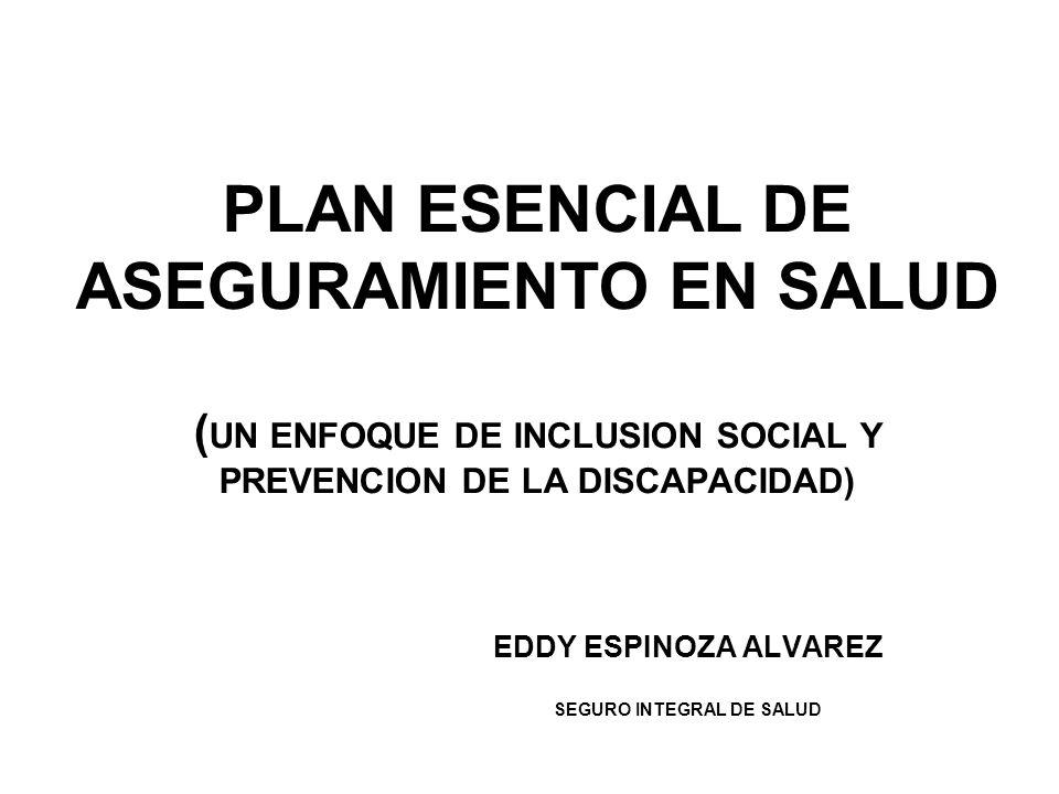 EDDY ESPINOZA ALVAREZ SEGURO INTEGRAL DE SALUD