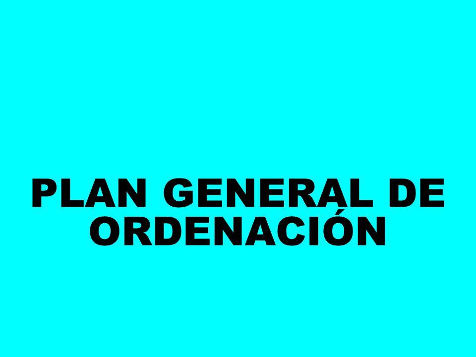 PLAN GENERAL DE ORDENACIÓN