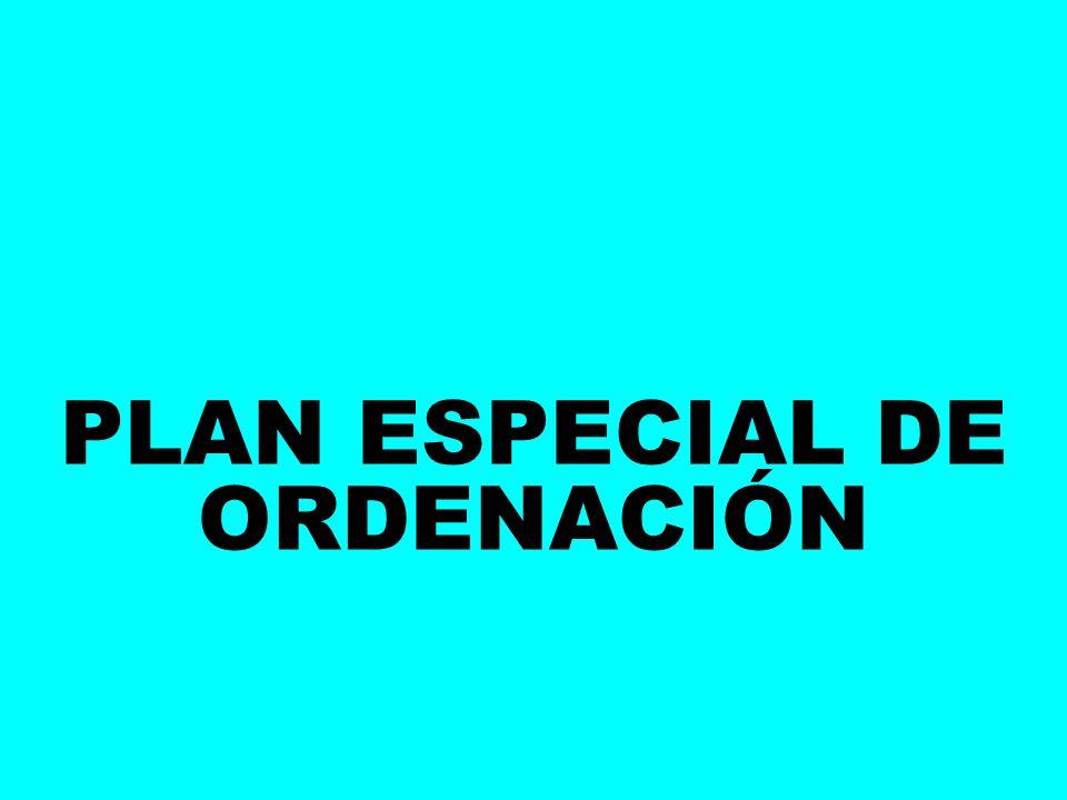 PLAN ESPECIAL DE ORDENACIÓN