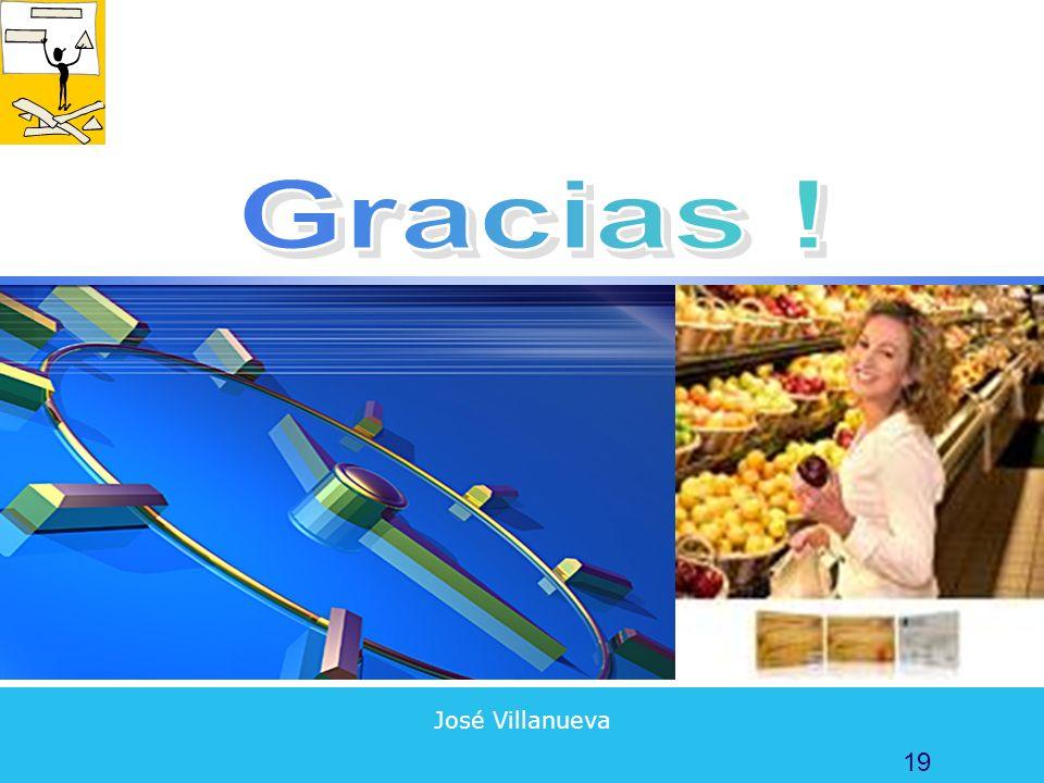 Gracias ! José Villanueva