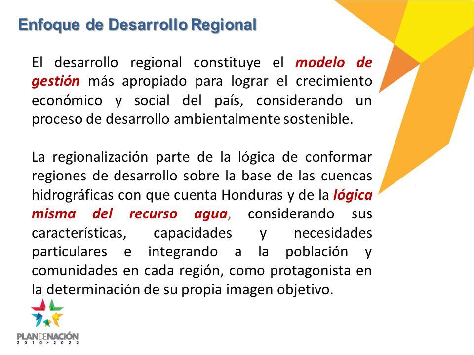 Enfoque de Desarrollo Regional