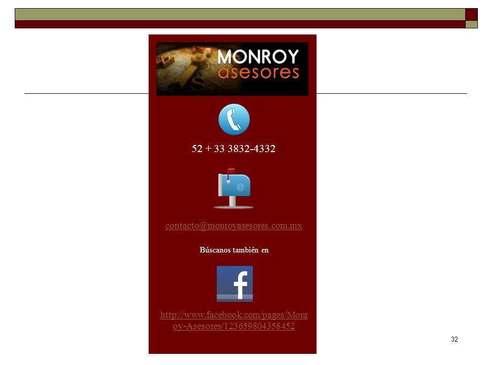 52 + 33 3832-4332 contacto@monroyasesores.com.mx