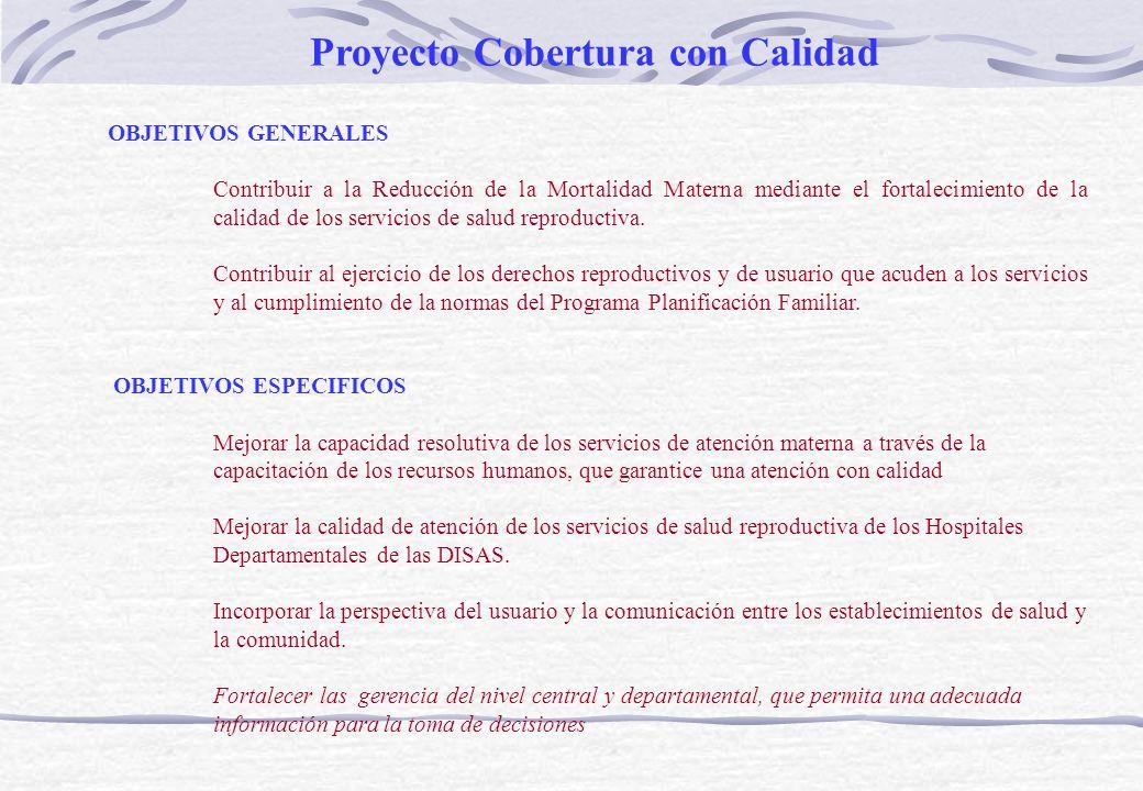 Proyecto Cobertura con Calidad