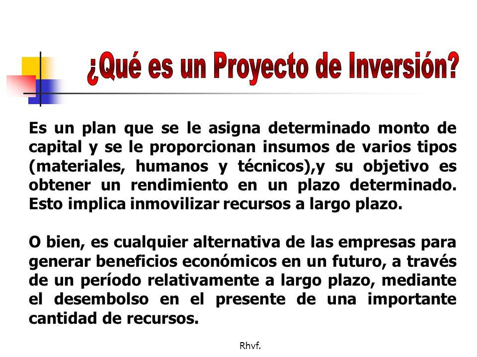 ¿Qué es un Proyecto de Inversión