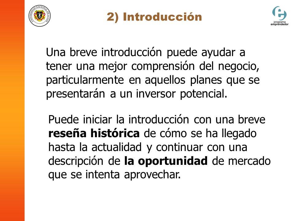 2) Introducción