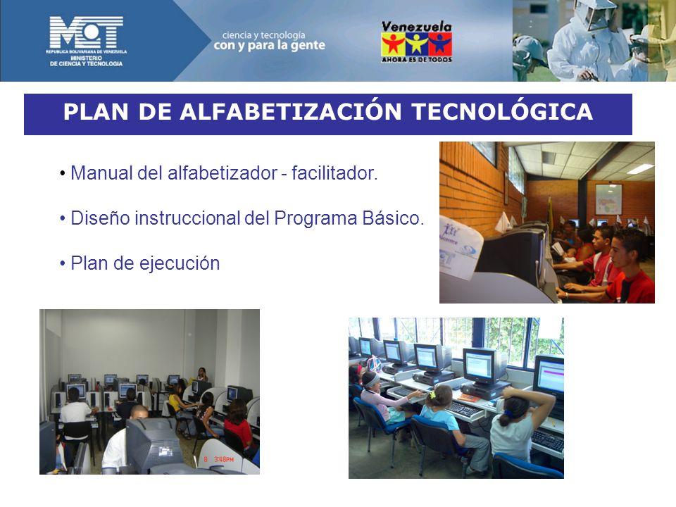 PLAN DE ALFABETIZACIÓN TECNOLÓGICA