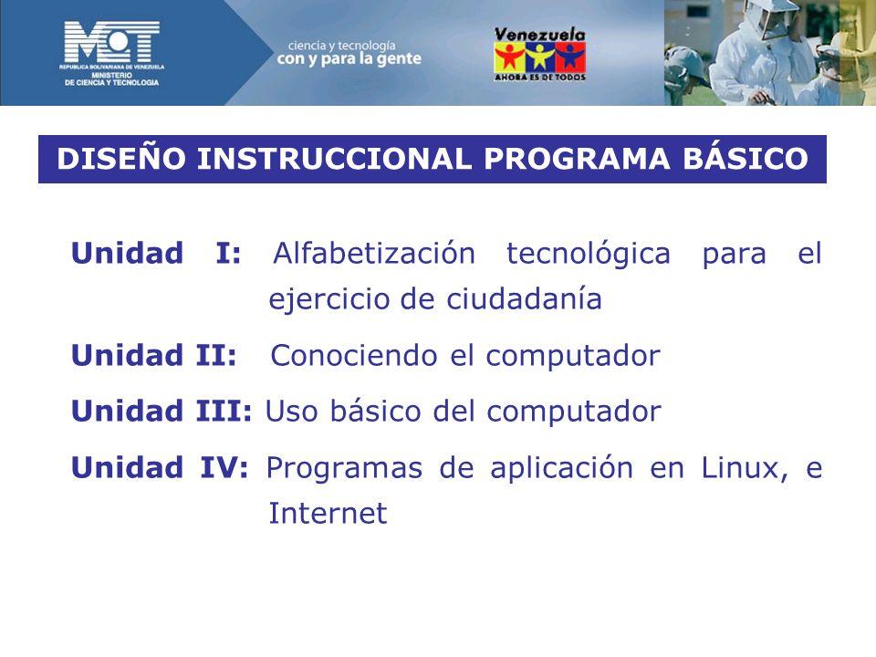 DISEÑO INSTRUCCIONAL PROGRAMA BÁSICO