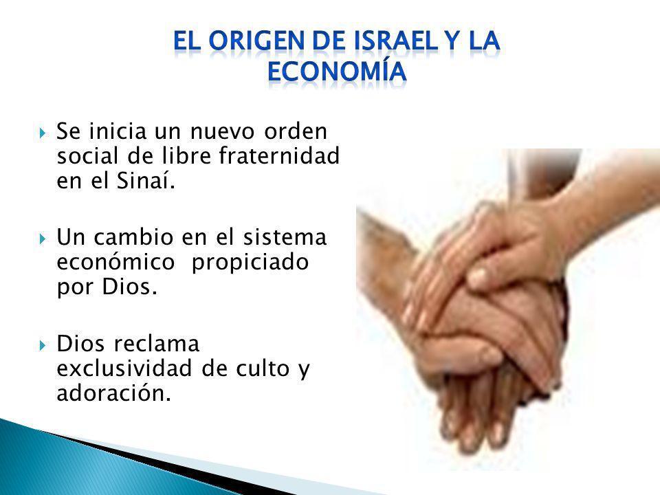 EL ORIGEN DE ISRAEL Y LA ECONOMÍA