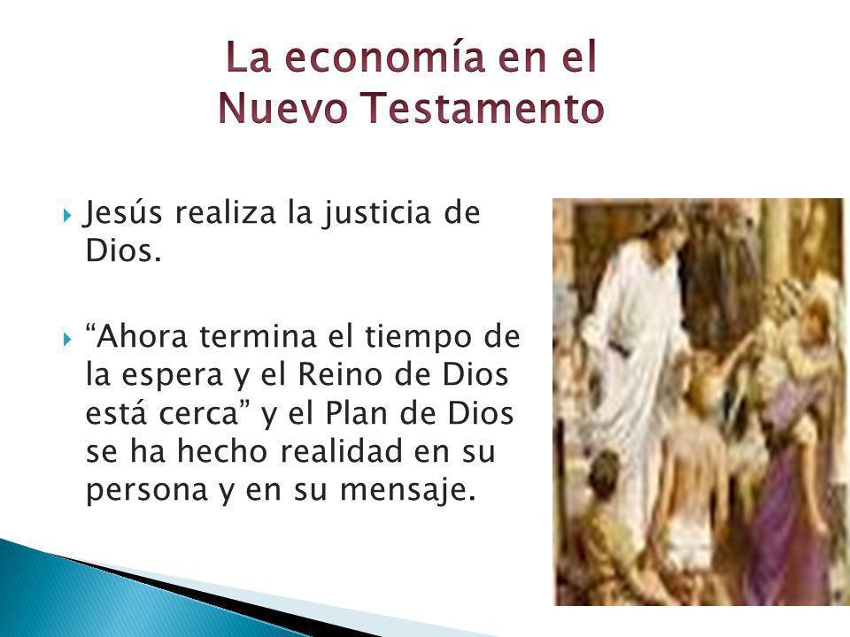 La economía en el Nuevo Testamento