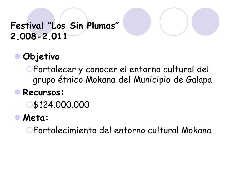 Festival Los Sin Plumas 2.008-2.011