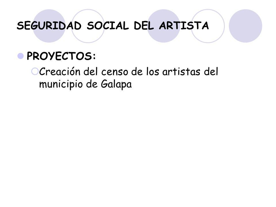 SEGURIDAD SOCIAL DEL ARTISTA