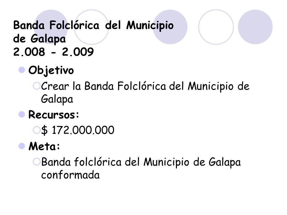Banda Folclórica del Municipio de Galapa 2.008 - 2.009