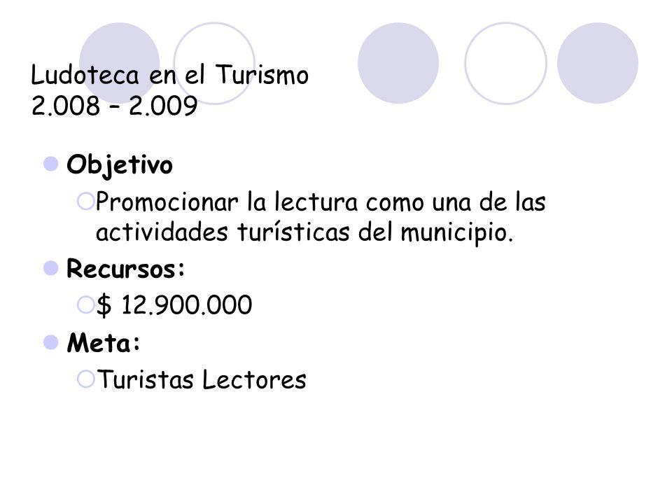 Ludoteca en el Turismo 2.008 – 2.009