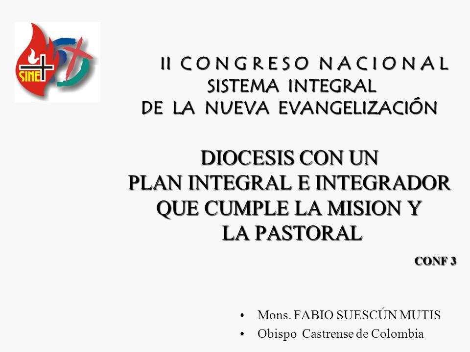 Mons. FABIO SUESCÚN MUTIS Obispo Castrense de Colombia