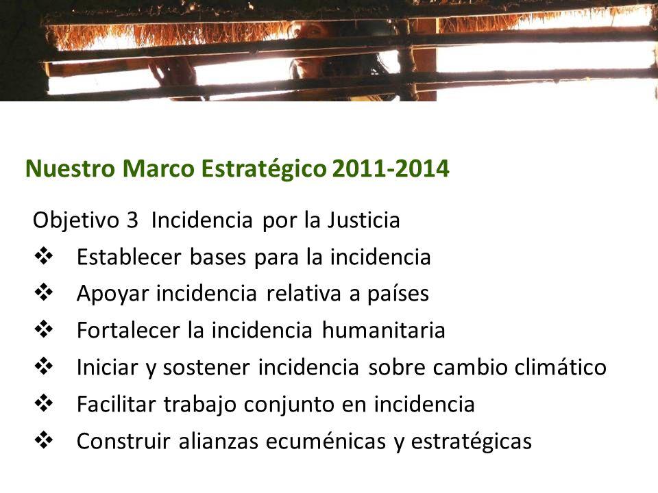 Nuestro Marco Estratégico 2011-2014
