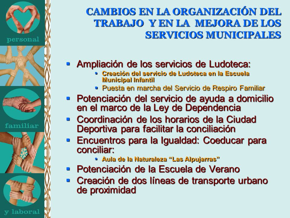 Ampliación de los servicios de Ludoteca: