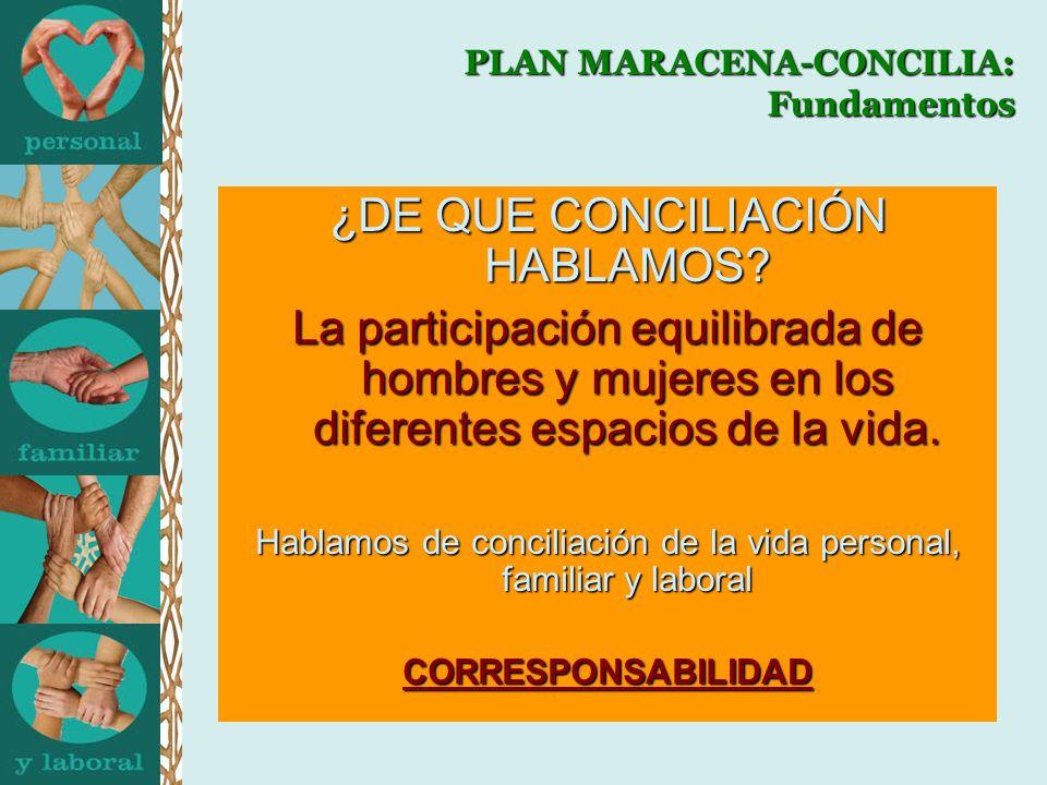PLAN MARACENA-CONCILIA: Fundamentos