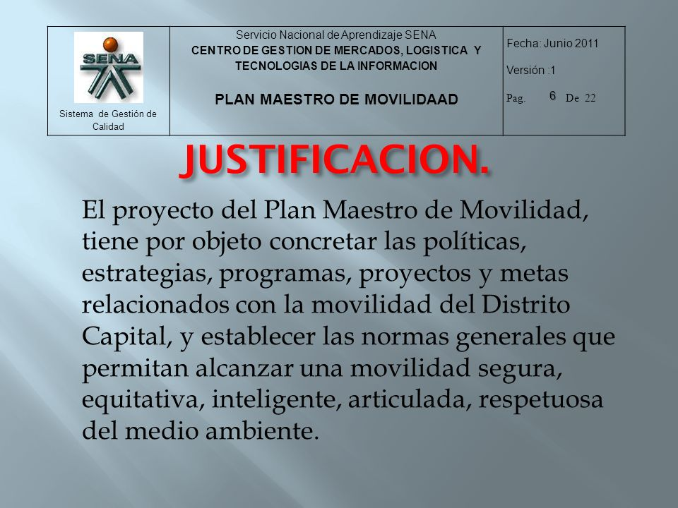 JUSTIFICACION.
