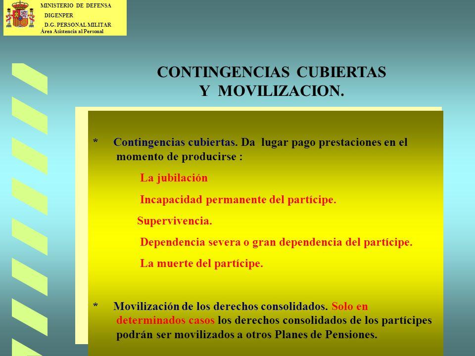 CONTINGENCIAS CUBIERTAS