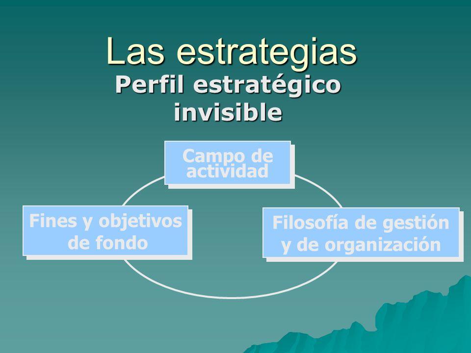Perfil estratégico invisible