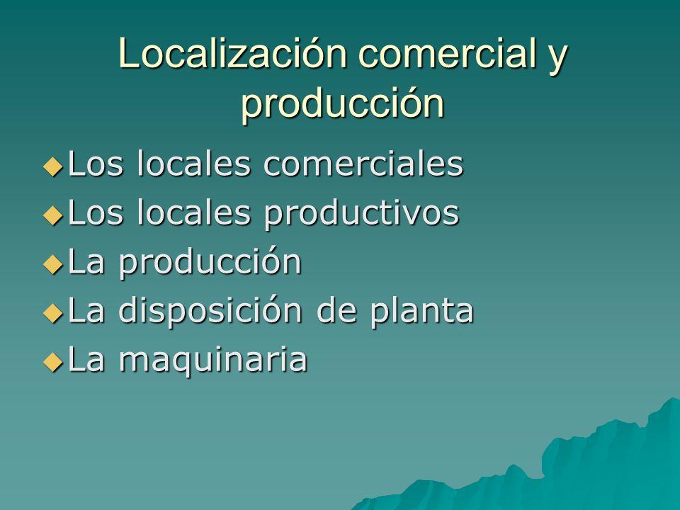 Localización comercial y producción