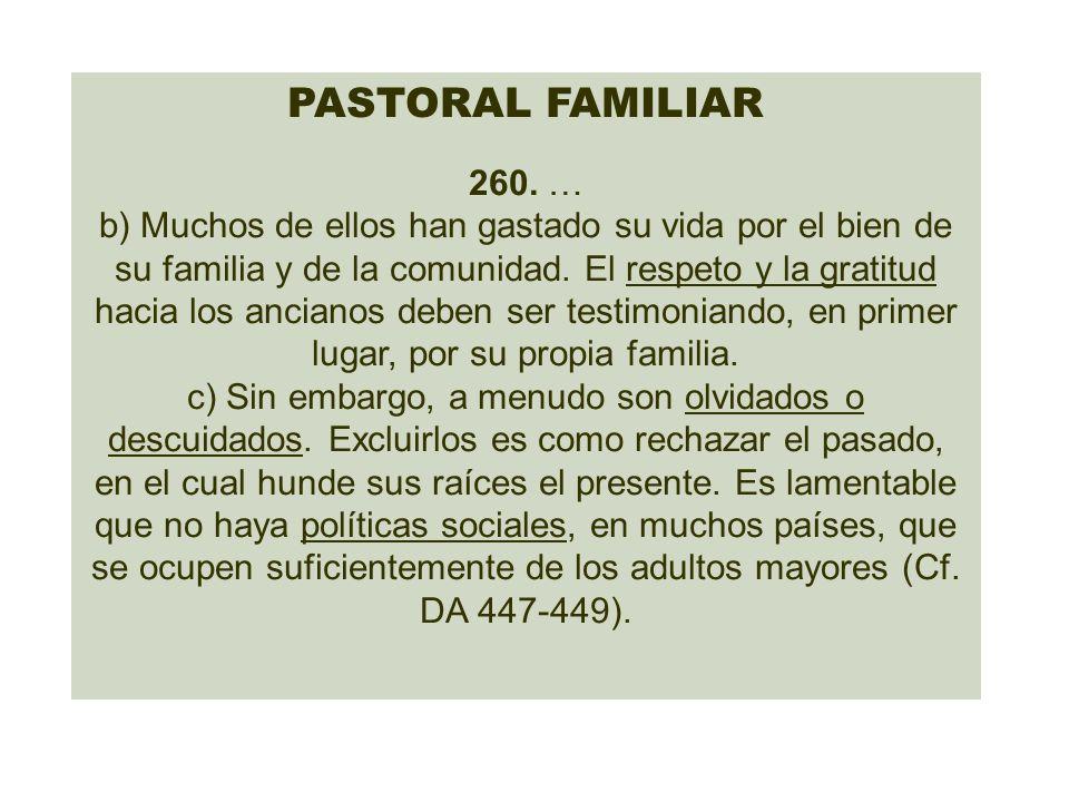 PASTORAL FAMILIAR 260. …