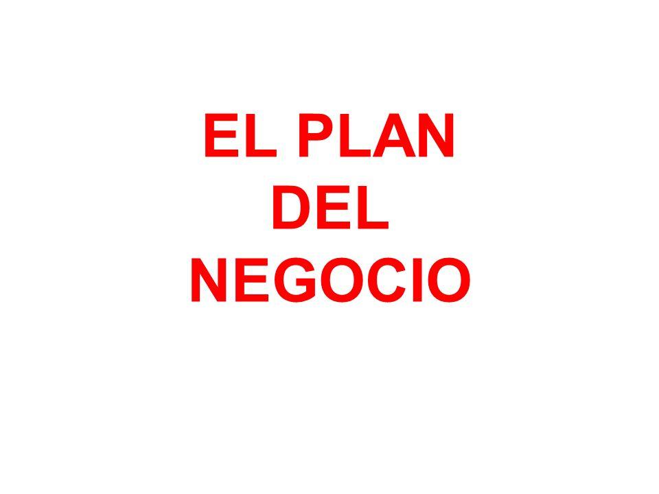 EL PLAN DEL NEGOCIO