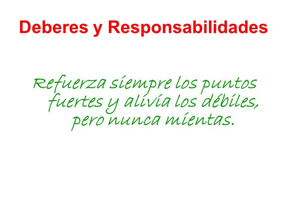 Deberes y Responsabilidades