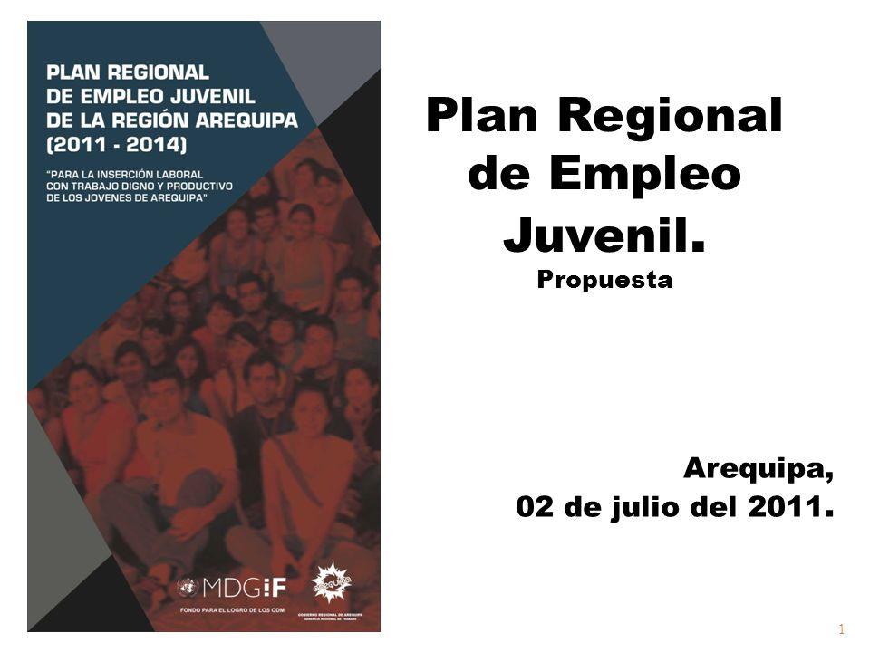Plan Regional de Empleo Juvenil.